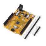Оригинал 5 шт. ATmega328P UNO R3 Совет по Развитию Улучшенная Версия Улучшенный SCM Желтый Модуль Для Arduino