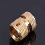 """Оригинал 3/4 """" Solid Brass Female Сад Шланг Quick Коннектор Гибкий адаптер для промывки Авто Сад Шланг Фитинги Соединение с соплом"""