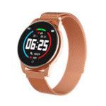 Оригинал Bakeey HD Цветной экран 24-часовое HR кровяное давление Монитор Дистанционный камера Смарт-часы Business Style