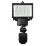 Оригинал 100 LED Прожектор Солнечная с питанием от инфракрасного датчика Датчик Охранный свет Солнечная Сад Свет