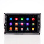 Оригинал 9 дюймов Quad Core Для Android Авто Стерео Радио Сенсорный экран GPS навигация Wifi AM с двойной ручкой
