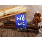 Оригинал (5 шт. / Лот) NFC Smart Stickers Tag Ntag216 13,56 МГц RFID Карта с метками для всех телефонов NFC Android