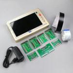 Оригинал TV160 7th ТВ тестер материнских плат Набор Vbyone и LVDS в HDMI конвертер с семью адаптерами Пластина