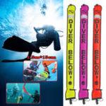 Оригинал Катушка для подводного плавания с высокой видимостью 1,5 м SMB Поверхностный маркер и защитное снаряжение для катушки для погружения