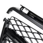 Оригинал Передняя решетка глянцевая черная / щепка для Mercedes Benz C-класса C63 AMG W204 седан 2008-2011
