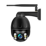 Оригинал QJ-200-P3 Smart HD 1080P PTZ 360 ° Водонепроницаемы IP камера H.265 Инфракрасная ночная версия M-otion Detection Home AI WIFI камера Детские мониторы