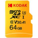 Оригинал Карта памяти SD TF Flash Карта 64GB 128 ГБ U3 A1 V30 Карта Micro SDHC SDXC Карта для хранения видео и мобильных устройств