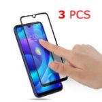 Оригинал 3PCS Bakeey Anti-Explosion Full Cover Полный клей Закаленное стекло-экран протектор для Xiaomi Redmi 7/Redmi Y3