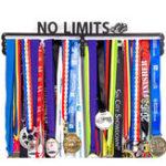 Оригинал Urban Active Держатель спортивной медали No Limits Medal Дисплей за 60 медалей Дисплей Коробка