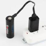 Оригинал 1 Шт. Soshine 26650USB 3.6 В 5500 мАч USB Аккумуляторная 26650 Литий-Ионный Батарея С Защищенным Портом USB-Порт