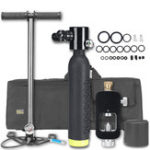 Оригинал 0.5L Diving Scuba Cylinder Underwater Oxygen Tank Set