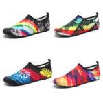 Оригинал Обувь для плавания на открытом воздухе Мужская пара вверх по течению Обувь Пляжный Дайвинг обувь Женское Yoga Wading Shoes Дождливый день Резинов
