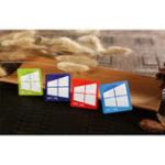 Оригинал 4 шт. NTAG213 13,56 MHZNFC 144 байт цветная электронная бирка для карточек с метками Телефон Доступные клейкие этикетки RFID