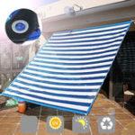 Оригинал Зонт от солнца 6 Pin Edge Штамповка Шифрование Изоляция Балкон Солнцезащитный крем Meaty Сад Авто Home