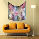 Оригинал Художественный декоративный цветочный гобелен Декор для стен Гобелены для дома