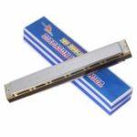 Оригинал Лебедь SW28 28 отверстий C Key Harmonica Blues Джаз Фолк Музыка Музыкальный инструмент