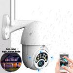 Оригинал 5-кратный зум HD 2-мегапиксельная IP-безопасность камера Беспроводная связь WiFi 1080P На открытом воздухе PTZ Водонепроницаемы Ночное видение ONVIF