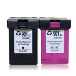 Оригинал TIANSE 1 шт. HP Сменный картридж 901 901XL для HP 901 HP901 XL для HP Officejet 4500 J4500 J4540 J4550 J4580 J4640 J4680 Чернила для принтера