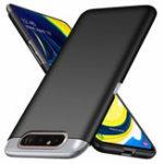 Оригинал Bakeey Ультра-тонкий матовый анти-отпечатков пальцев Hard PC Защитный Чехол Для Samsung Galaxy A80 2019