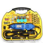 Оригинал Minleaf ML-11002A AC 110V Электрический вращающийся Дрель Электрический шлифовальный станок Гравер Полировщик DIY Инструмент Набор