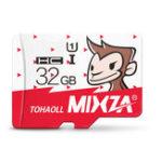 Оригинал Mixza Год Обезьяны Limited Edition 32GB U1 TF Микро Карта памяти для цифрового камера MP3 TV Коробка Смартфон