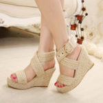 Оригинал Large Size Wedge Sandals women