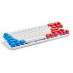 Оригинал Magicforce Smart2 68 Ключи Bluetooth 4.0 Проводной двухрежимный PBT Keycap Cherry MX Blue Switch Механический Игровые Клавиатура для настольных ПК и ноутбуков