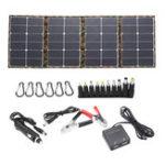 Оригинал 120 Вт 18 В Dual USB Sunpower Складная Солнечная Панель Батарея Комплекты Зарядного Устройства Для Телефона Ноутбука