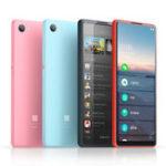 Оригинал QIN Полноэкранный телефон 4G Сеть с Wifi 5,05 дюйма 2100 мАч Bluetooth 4.2 Инфракрасный Дистанционное Управление GPS Телефон с двумя SIM-картами от Xiaomi youpin