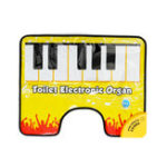 Оригинал Touch Play Keyboard Music Singing Toilet Carpet Mat Adult Children Fun Casual Decompression Toy Piano blanket
