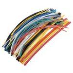 Оригинал 70шт 20см 5размер 2: 1 коэффициент усадки 7цвет полиолефин термоусадочная Трубка обертка Провод