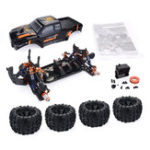 Оригинал ZD Racing MT8 Pirates3 1/8 4WD 90 км / ч Бесколлекторный RC Авто Набор без электронных компонентов