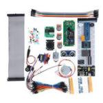 Оригинал Ультразвуковые стартовые наборы Freenove для Arduino Raspberry Pi 3 B+ с 358 страницами Подробные руководства Python C Java 171 Предметы 47 Проекты RPi 3B+ 3B 3A + 2B 1B+ 1A + Z