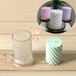 Оригинал Пластиковая свеча Спираль Форма DIY Ремесло Инструмент Для изготовления восковых свечей