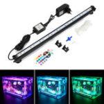 Оригинал NovSight LED RGB Аквариум Свет 48см 16 Цвет RF Дистанционное Управление Водонепроницаемы Аквариум под водой Лампа