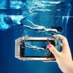Оригинал PULUZ Diving Shell Чехол 40м Diving Shell Водонепроницаемы Ударопрочный Защитный Чехол Для Huawei P20 PRO