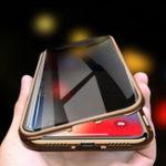 Оригинал BakeeyAnti-PeepingМагнитнаяАдсорбцияМеталлДвусторонняя Закаленное стекло Защитное Чехол Для iPhone X/XS / XR / XS Макс