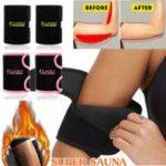 Оригинал ZANZEA Sweat Arm Сауна Ремень Неопрен Триммер Тренировка для сжигания жира Тренажер для спорта Спортзал Упражнения для похудения Набор