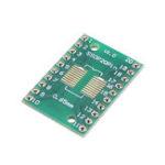 Оригинал 60 шт. SOP20 SSOP20 TSSOP20 К DIP20 Пинборд SMD К DIP Адаптер 0,65 мм / 1,27 мм К 2,54 мм DIP Pin Pitch PCB Board Converter