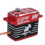 Оригинал GDW BLS896 IPX896 Shark 38KG 160 ° Металлический редуктор Бесколлекторный Водонепроницаемы Цифровой Сервопривод Для моделей RC