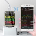 """Оригинал ATORCH 18 в 1 USB-тестер Текущий вольтметр HD Цвет TFT 1,8 """"PD3.0 Протокол быстрой зарядки Тест емкости компьютера Онлайн"""