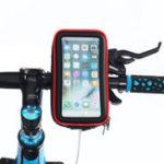Оригинал Водонепроницаемый велосипед мотоцикл Руль Телефон Сумка Держатель телефона для смартфонов 4.0-6.5 iPhone XS XS Макс Samsung Galaxy S10 +