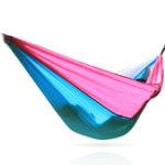 Оригинал 230X90CM 210T Nylon Гамак Кемпинг Гамак Качели Портативный парашют для взрослых На открытом воздухе Гамак