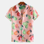 Оригинал Разноцветные груши с короткими рукавами Revere Shirts