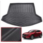 Оригинал Автомобильный багажник Задний коврик на коврик Pad Водонепроницаемы Доставка Подложка для ковровых покрытий Carpet Mud Kick Protector Для Mazda CX5 CX-5 MK2 201