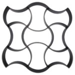 Оригинал Цементный кирпич Плесень Walk Maker Нерегулярные DIY Бетонные формы Многоразовые пластиковые P ath Maker Steeping Stone Paver
