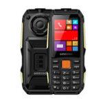 Оригинал GEECOO Power Monster 2.4 дюймов 5000mAh Power Bank с FM-фонариком Двойная камера Двойная SIM-карта Двойной режим ожидания Rggged Телефон