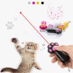 Оригинал Zanlure C4 Mini Red Лазер Забавный Кот Игрушка 3 Режима Аккумуляторная Pet Погоня Игрушки