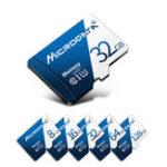 Оригинал MicroData 8 ГБ 16GB 32GB 64GB 128 ГБ Class 10 High Speed Max 80 МБ / с TF Карта памяти с адаптером карты для планшета мобильного телефона GPS камера Автомобиль Видеорег