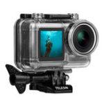 Оригинал Telesin OS-WTP-002 40M Водонепроницаемы Подводный дайвинг Защитный снаряд Чехол для DJI OSMO Action Sports камера